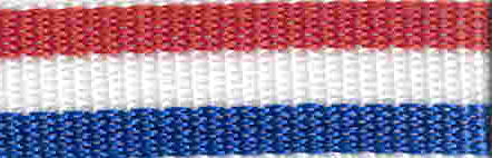 Pacific Rain Webbing Red White and Blue